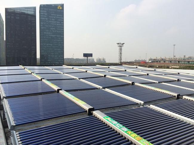 空气能太阳能集中供热热水系统