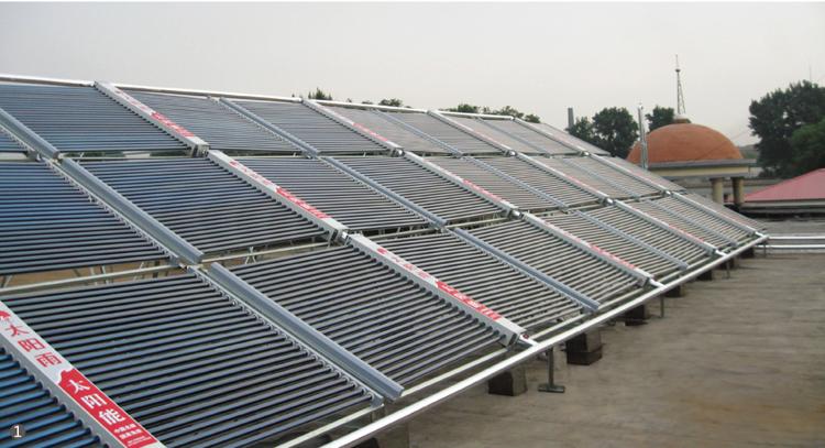 部队太阳能-空气能联共热水工程
