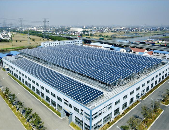 厂房太阳能集中供热热水系统