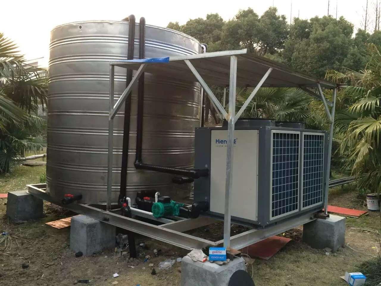 职工公寓空气源热泵热水工程