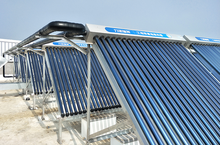 员工宿舍楼太阳能热水工程安装